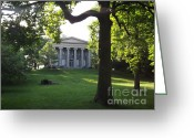 Scary Mansion Greeting Cards - Baker Mansion Iii Greeting Card by Chad Thompson