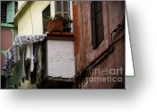 Rabat Greeting Cards - Balcony Greeting Card by Daniel Berube