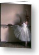 Youths Greeting Cards - Ballerina 2. Ballet Greeting Card by Juan Carlos Ferro Duque