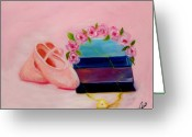 Children Greeting Cards - Ballet Still Life Greeting Card by Joni M McPherson