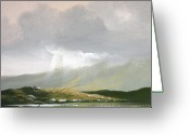 Co Galway Greeting Cards - Ballinahinch April Greeting Card by Cathal O malley
