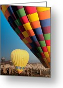 Mistic Greeting Cards - Ballons - 3 Greeting Card by Okan YILMAZ
