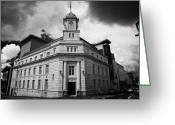 Town Hall Greeting Cards - Ballymena town hall now part of the braid museum and arts complex ballymena  Greeting Card by Joe Fox