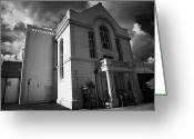 Town Hall Greeting Cards - Ballymoney Town Hall And Museum County Antrim Northern Ireland Greeting Card by Joe Fox