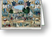 Civil Rights Greeting Cards - BALTIMORE: 15th AMENDMENT Greeting Card by Granger