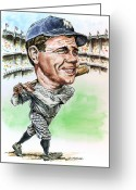 Sports Prints Greeting Cards - Bambino Greeting Card by Tom Hedderich