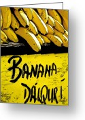 Food Greeting Cards - Banana Daiquiri Greeting Card by Barb Pearson