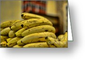 Banana Tree Greeting Cards - Bananas Greeting Card by Paul Ward