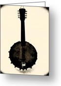 Photographs Digital Art Greeting Cards - Banjo Mandolin Greeting Card by Bill Cannon