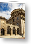 Colour Image Greeting Cards - Bank of Ireland Greeting Card by Gabriela Insuratelu