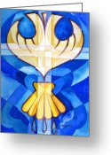 Baptize Greeting Cards - Baptism Greeting Card by Mark Jennings