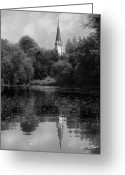 Baptize Greeting Cards - Baptismal Greeting Card by Jan Piller
