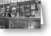 Fidel Castro Greeting Cards - Bar in Old Havana Greeting Card by Lynn Bolt