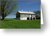 Barn Images Greeting Cards - Barn In The Country - Bayonet Farm Greeting Card by Angie McKenzie