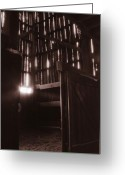 Old Photo Greeting Cards - Barn Greeting Card by Katherine Howard