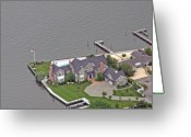 Flights Greeting Cards - Barnegat Bay House Bay Head New Jersey Greeting Card by Duncan Pearson