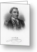 Signature Greeting Cards - Baron De Kalb (1721-1780) Greeting Card by Granger