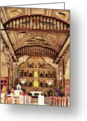 Cebucity Greeting Cards - Basilica Of Santo Nino Greeting Card by James Bo Insogna
