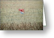 Hedge Greeting Cards - Basketwall Greeting Card by MarcelTB