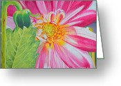 Christine Belt Greeting Cards - Basking Greeting Card by Christine Belt