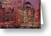 Battery Park Greeting Cards - Battery Park New York City Greeting Card by Antonio Martinho