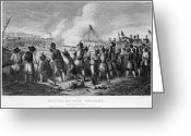 General Jackson Greeting Cards - Battle Of New Orleans Greeting Card by Granger