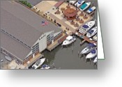 Flooding Photo Greeting Cards - Bay Head America Greeting Card by Duncan Pearson