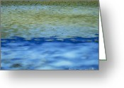 Bank Photo Greeting Cards - Beach and sea Greeting Card by Bernard Jaubert