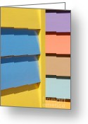 Melbourne Beach Greeting Cards - Beach House - Pastel colours III Greeting Card by Hideaki Sakurai