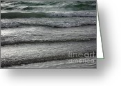 Light Gray Greeting Cards - Beach Memories Greeting Card by Carol Groenen