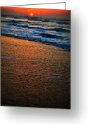 Ocean Scenes Greeting Cards - Beach of Dreams Greeting Card by Emily Stauring