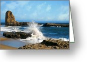 Beach Greeting Cards - Beach Party Greeting Card by Gregg Short