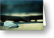 Point Of View Greeting Cards - Beach Zen Greeting Card by Rebecca Sherman