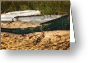 Cape Cod Greeting Cards - Beached Greeting Card by Bill  Wakeley