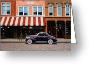 Blues Greeting Cards - Beale Street Memphis Greeting Card by Frank Dalton