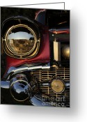 Hotrod Photo Greeting Cards - Beaming Greeting Card by Luke Moore