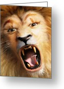 Beast Greeting Cards - Beast Greeting Card by Bill Fleming