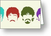 Ringo Starr Greeting Cards - Beatles Greeting Card by Elizabeth Coats