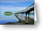Greaves Greeting Cards - Beautiful Bennett Bay Greeting Card by John  Greaves