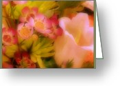 Frizzell Greeting Cards - Beautiful Bouquet Greeting Card by Michelle Frizzell-Thompson