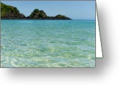Clear Photo Greeting Cards - Beautiful Sea Waves Greeting Card by Gus Takatori