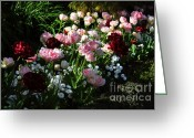 Bellis Greeting Cards - Beautiful Spring Flowers Greeting Card by Louise Heusinkveld