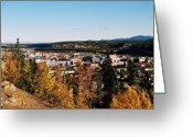 Klondike Greeting Cards - Beautiful Whitehorse ... Greeting Card by Juergen Weiss