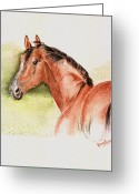 Remy Francis Greeting Cards - Beauty and the Breeze Greeting Card by Remy Francis