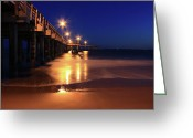 Wood Greeting Cards Framed Prints Greeting Cards - Beauty Greeting Card by Mark Ashkenazi