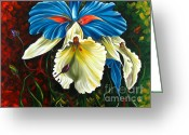 Flower Photographs Painting Greeting Cards - Beauty of Blossom 2 Greeting Card by Uma Devi