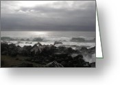 Storm Prints Greeting Cards - Beauty Of The Storm Greeting Card by Cheryl Perin