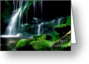 Moist Greeting Cards - Beauty of West Virginia Greeting Card by Darren Fisher