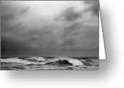 Pacific Greeting Cards - Beautys Dark And Deep Greeting Card by Zeb Andrews