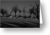 Beach Posters Greeting Cards - Been Driving Past Greeting Card by Jerry Cordeiro